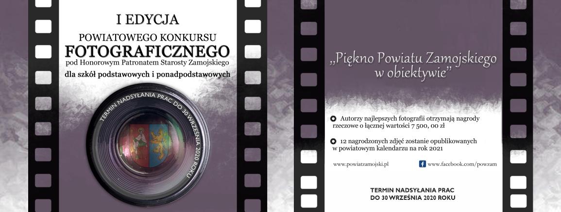 ogloszenie I Edycja Powiatowego Konkursu Fotograficznego dla szkół
