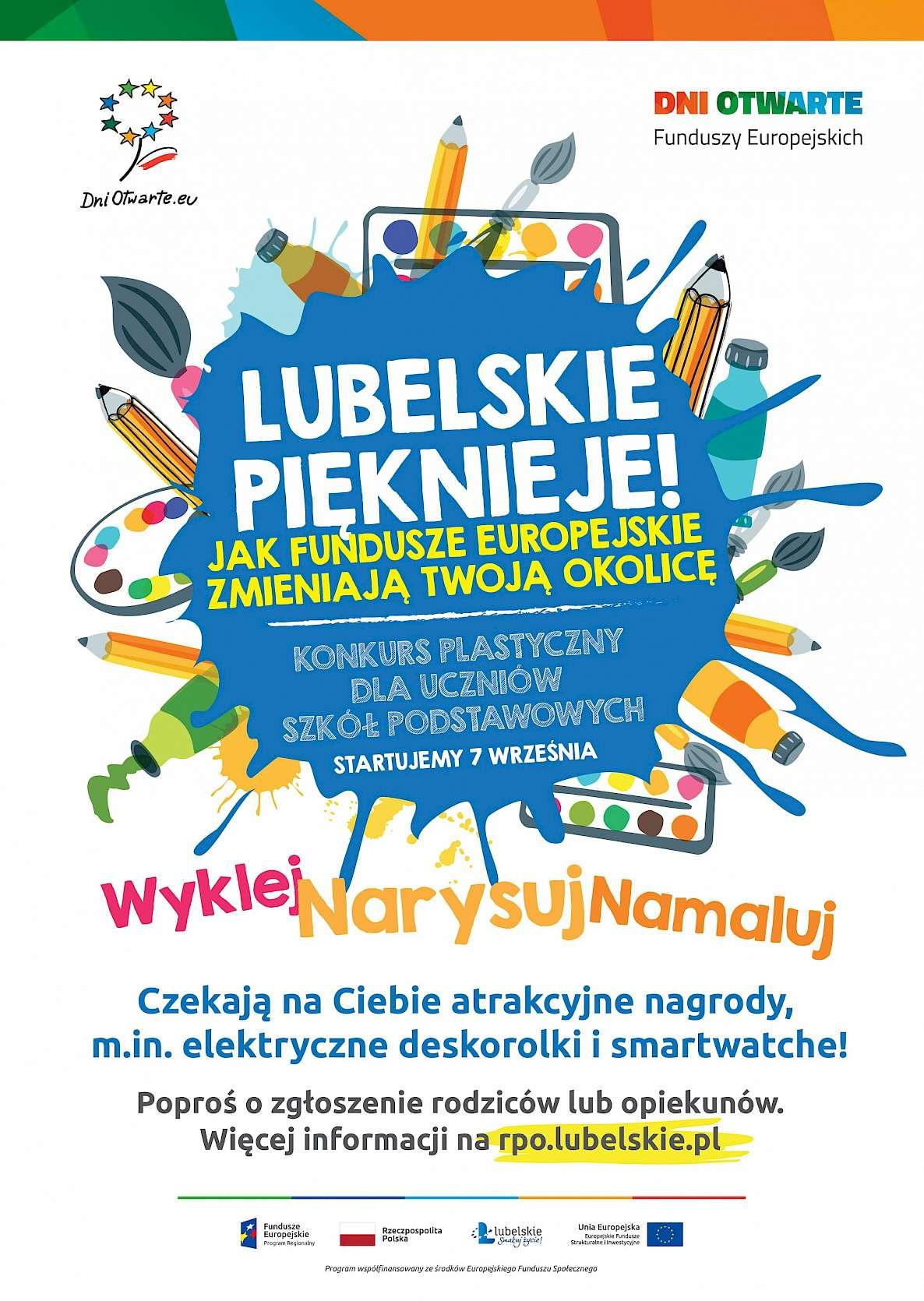 plakat 4 Konkurs plastyczny dla uczniów szkół podstawowych