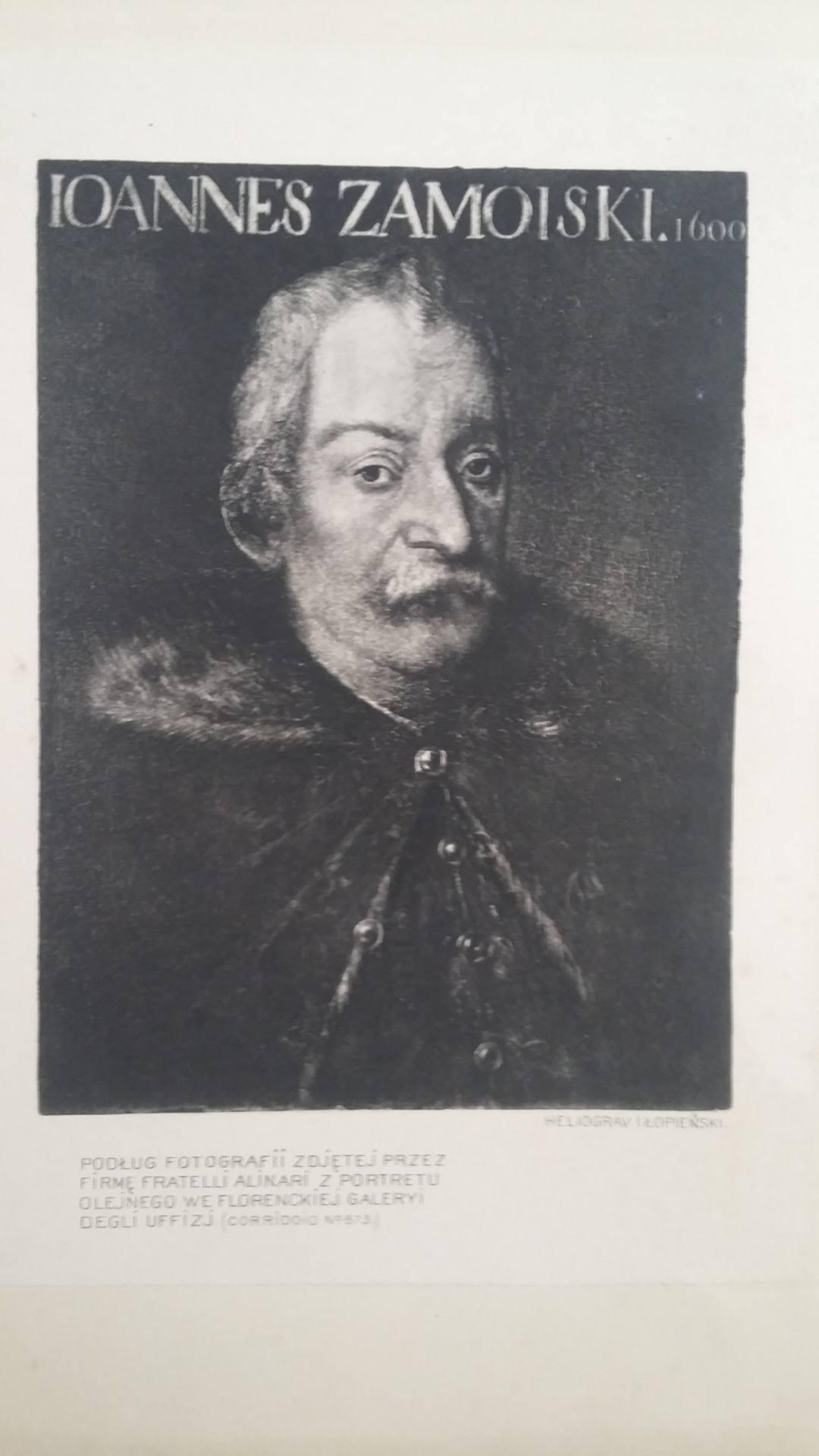portret w tomie i archiwum jana zamoyskiego Różne oblicza Kanclerza Jana