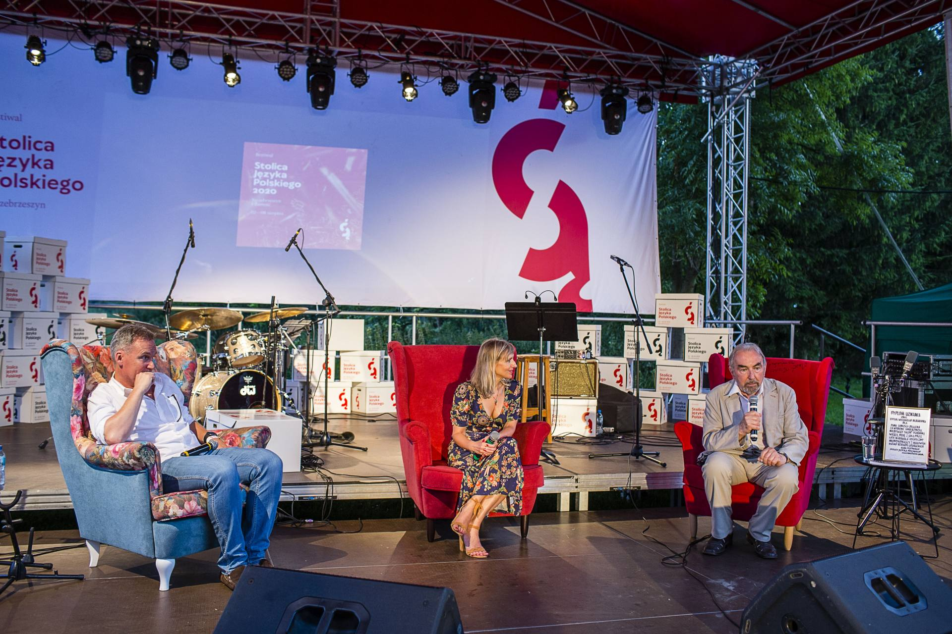 rozmowa z januszem deglerem fot wojciech lembryk Festiwal Stolica Języka Polskiego 2020 - znamy laureata Nagrody Wielkiego Redaktora.