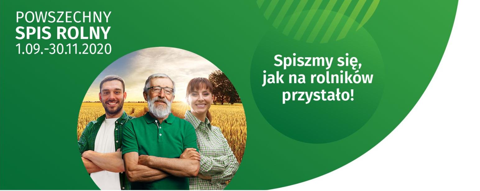 spis rolny plakat Spisałeś się w Powszechnym Spisie Rolnym 2020 poprzez aplikację? Weź udział w loterii