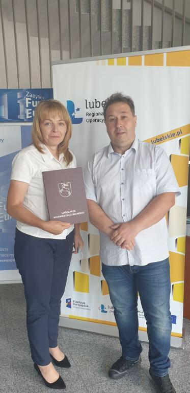 umowa Umowa o dofinansowanie oświetlenia ulicznego w Tomaszowie Lubelskim.