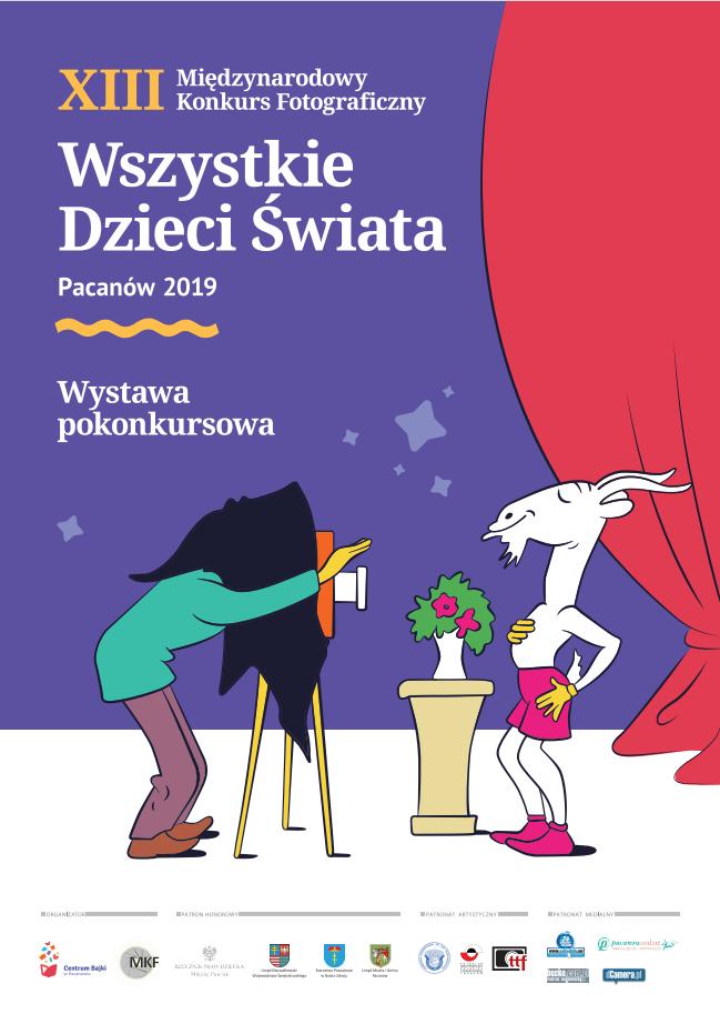wszystkie dzieci swiata 2019 plakat Wszystkie dzieci świata w Książnicy Zamojskiej