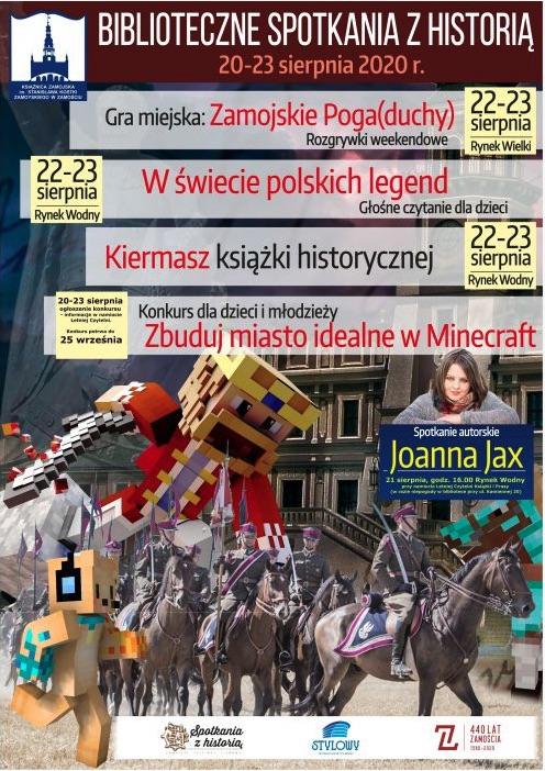 plakat: Książnica Zamojska