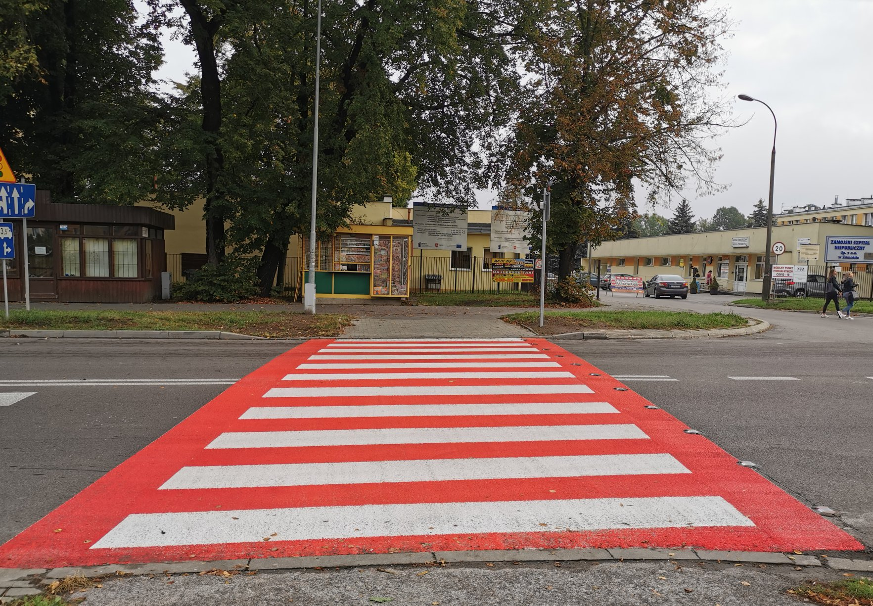 118776526 167338588306160 6615038895342112106 o Zamość: Nowe, interaktywne przejścia dla pieszych