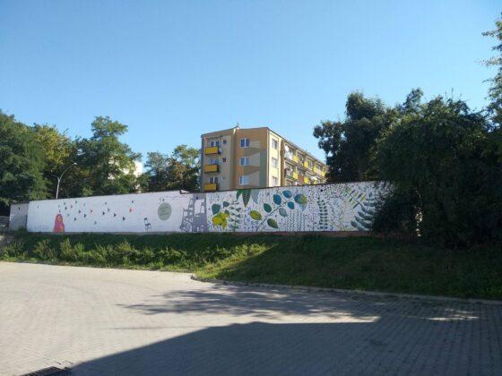 119018447 3977964185552538 7508486106921084730 o W Zamościu powstał nowy mural.