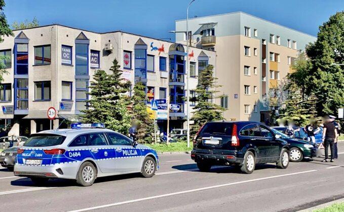 119026035 2579640139013687 5450514278414909728 n UWAGA kierowcy! Zderzenie dwóch aut na Piłsudskiego [ZDJĘCIA]