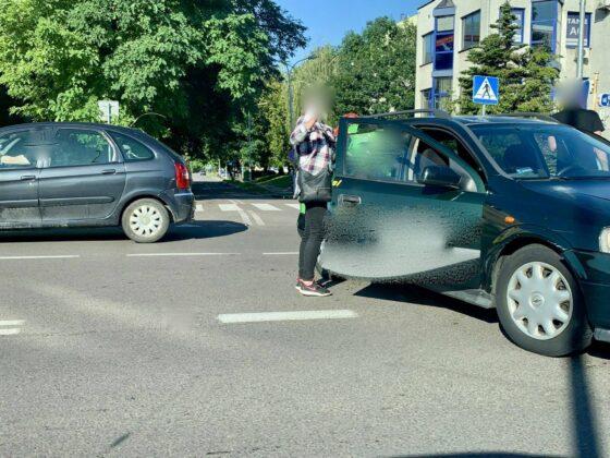 119047963 2688541054794353 530156232447080440 n UWAGA kierowcy! Zderzenie dwóch aut na Piłsudskiego [ZDJĘCIA]