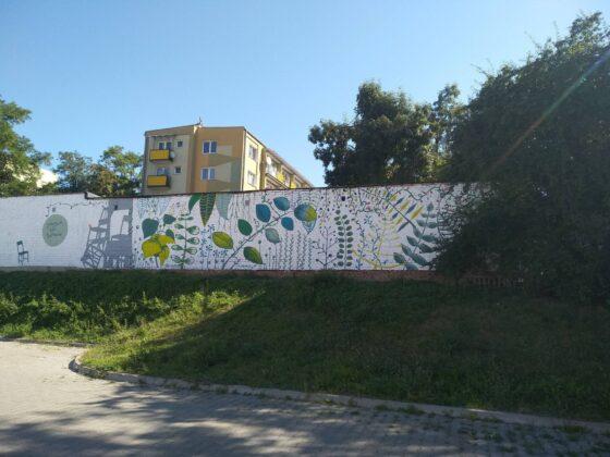 119053879 3977964108885879 3218228080344711828 o W Zamościu powstał nowy mural.
