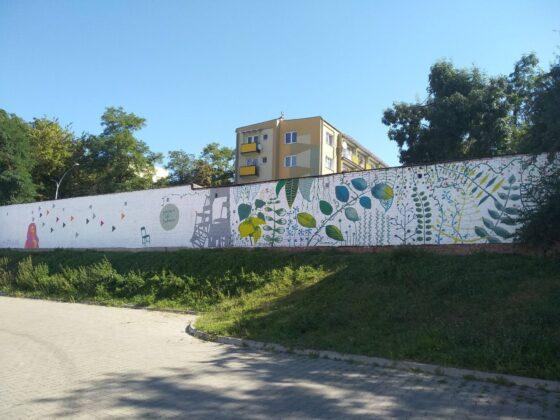 119055625 3977964102219213 4388674425720164110 o W Zamościu powstał nowy mural.