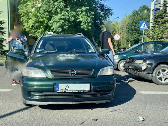 119064894 1635897586559877 6963573104430002176 n UWAGA kierowcy! Zderzenie dwóch aut na Piłsudskiego [ZDJĘCIA]