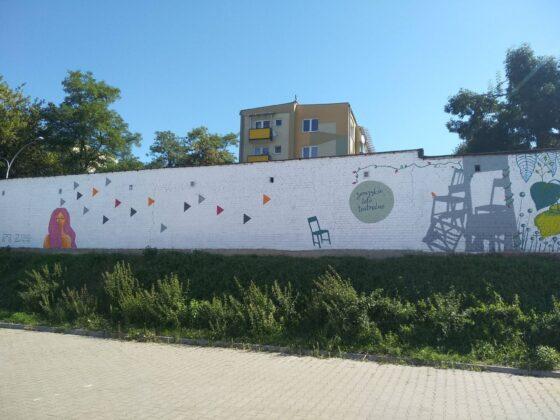 119083604 3977964025552554 4198811100088028204 o W Zamościu powstał nowy mural.