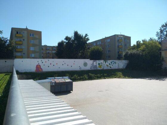 119085688 3977964222219201 3972336699480587415 o W Zamościu powstał nowy mural.