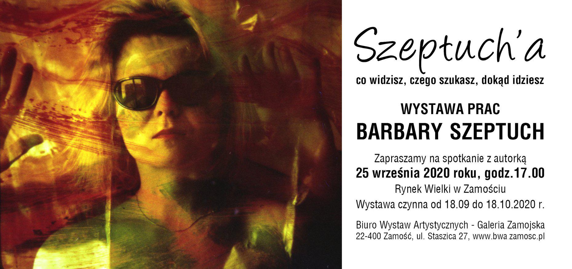 119126922 2513778338922933 7104267819737416909 o BWA Galeria Zamojska zaprasza na spotkanie z Barbarą Szeptuch