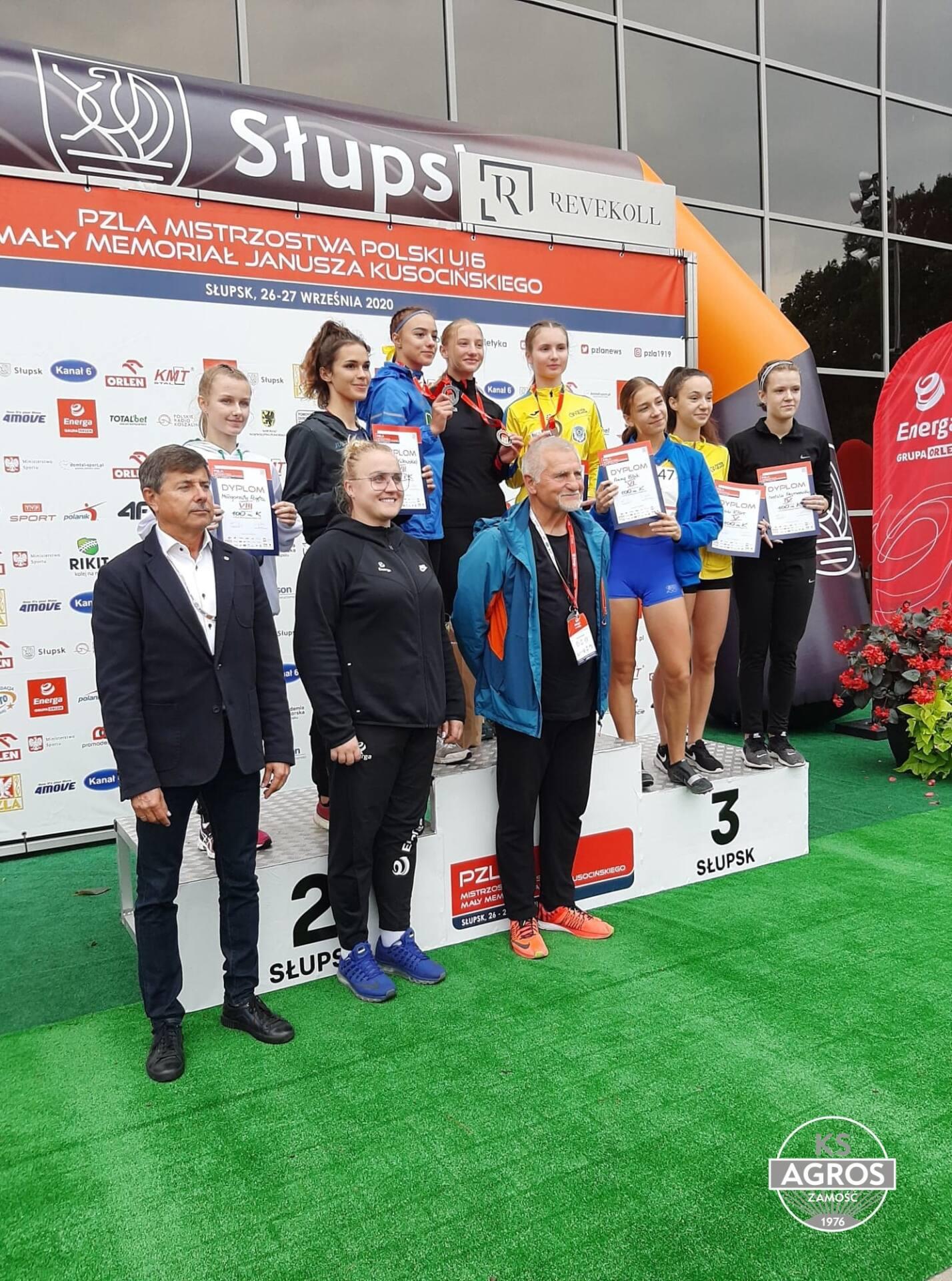 120262782 806508893494298 8611958337103353886 n Szybka jak błyskawica. Zamojska sprinterka - Martyna Seń pobiła rekord Polski!