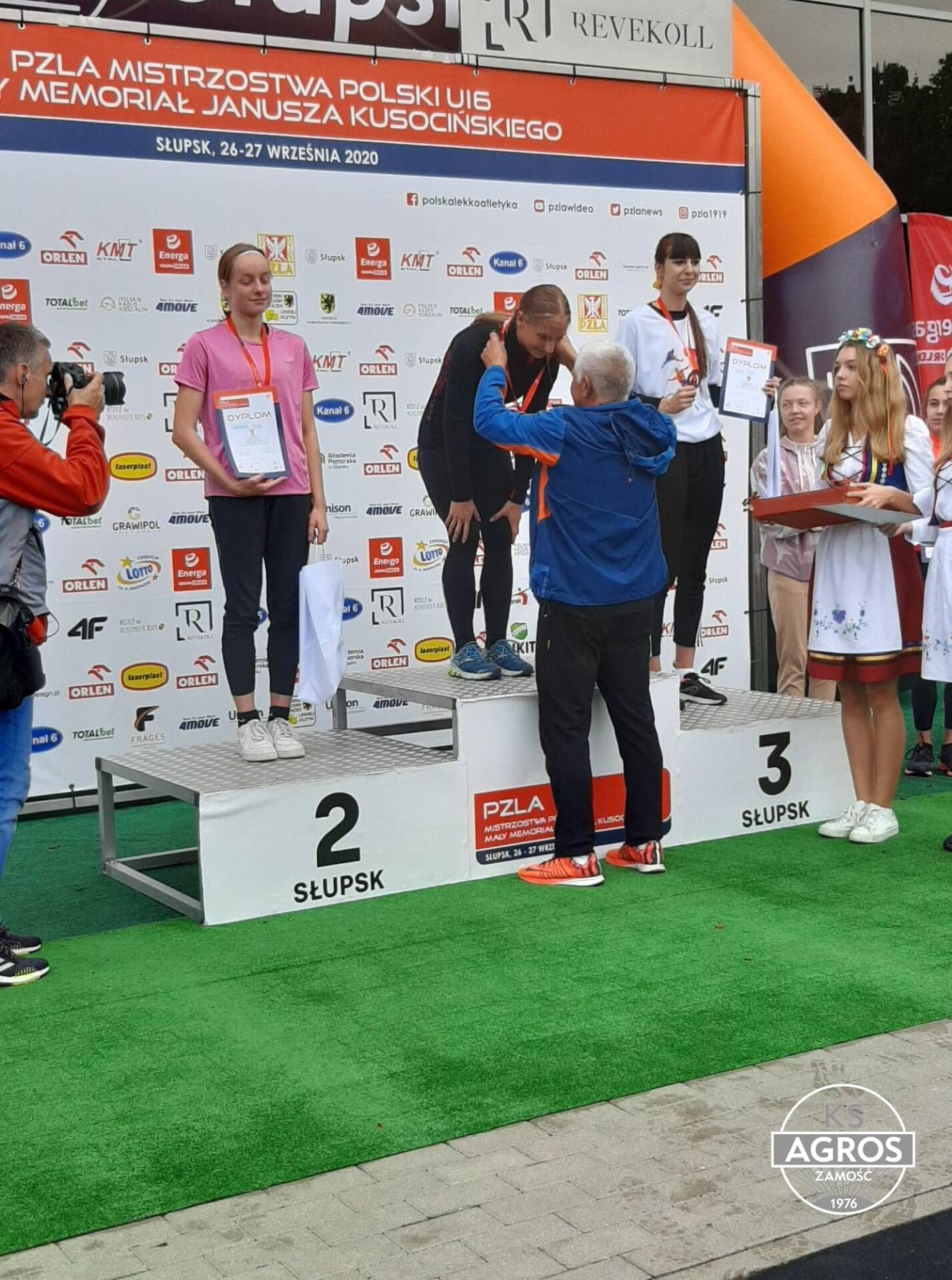 120316337 375652593442437 7083652979612916089 n Szybka jak błyskawica. Zamojska sprinterka - Martyna Seń pobiła rekord Polski!