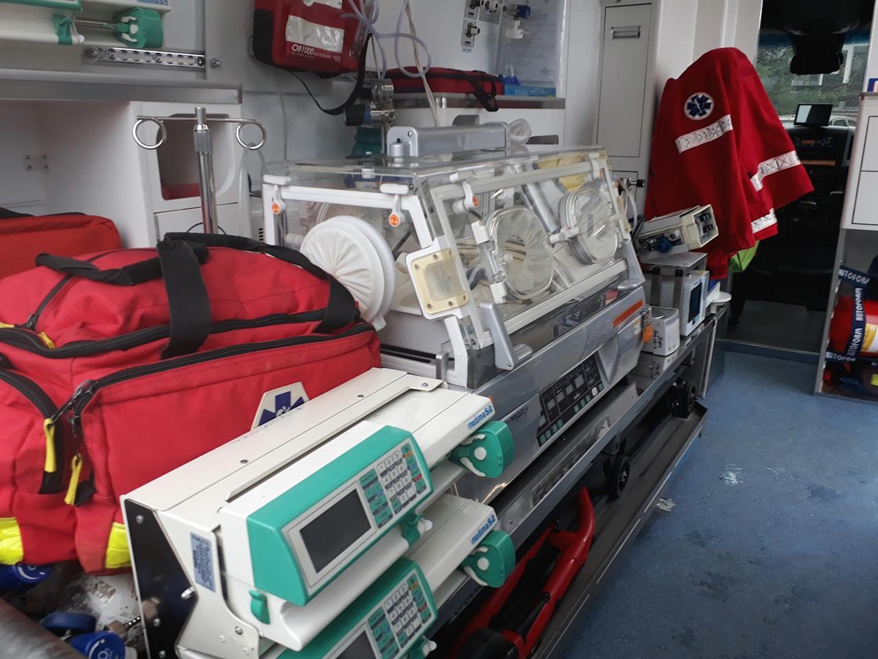 120396599 129908722192389 8249375879480343703 o Dobra wiadomość! Ambulans ratujący życie najmłodszych pacjentów wraca do pracy!