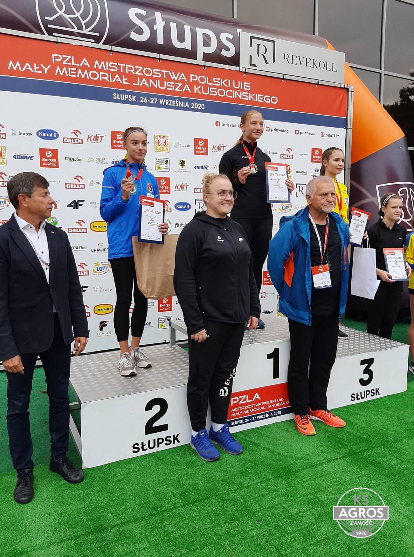 120441525 1177894359246046 9087010933655290794 n Szybka jak błyskawica. Zamojska sprinterka - Martyna Seń pobiła rekord Polski!