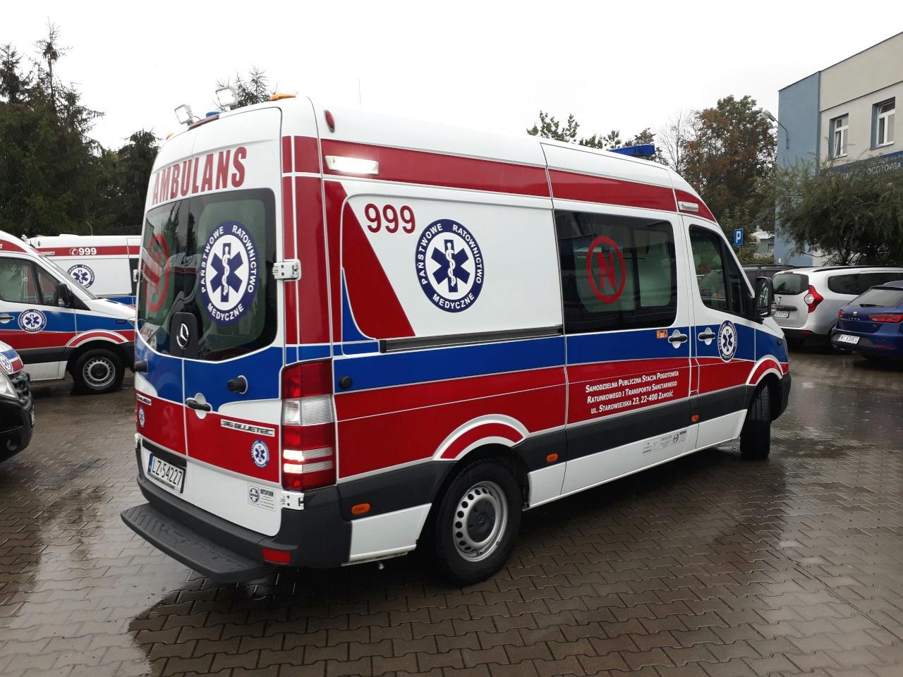 120609819 129908655525729 6355112530818957136 o Dobra wiadomość! Ambulans ratujący życie najmłodszych pacjentów wraca do pracy!