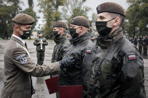 2 lbot przysiega lublin 27 09 2020 5 87 nowych ochotników zasiliło szeregi lubelskich Terytorialsów [ZDJĘCIA]