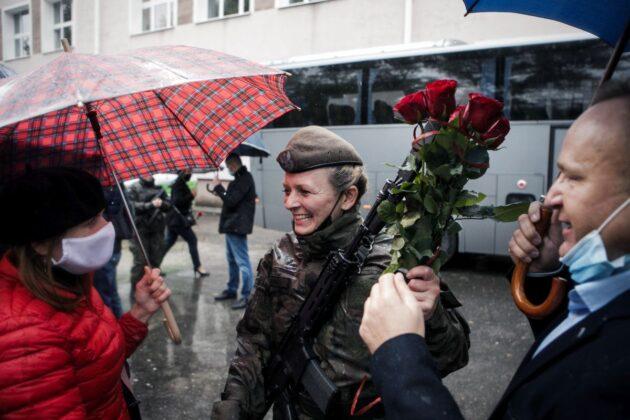 2 lbot przysiega lublin 27 09 2020 8 87 nowych ochotników zasiliło szeregi lubelskich Terytorialsów [ZDJĘCIA]