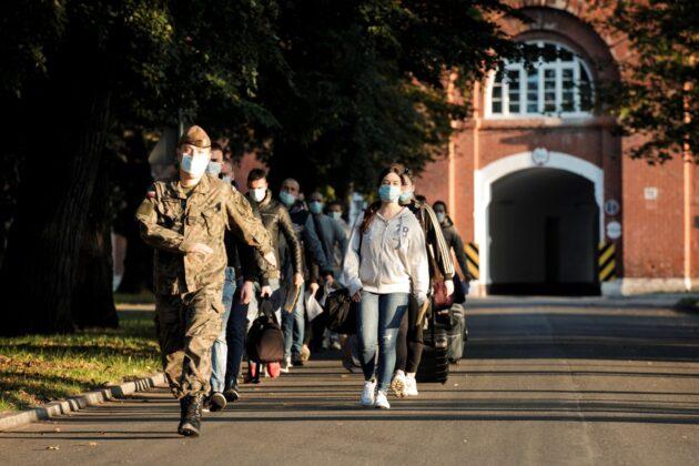 2 lbot wcielenie 12 09 20 3 94nowych ochotników wstąpiło w szeregi Lubelskiej Brygady OT [ZDJĘCIA]
