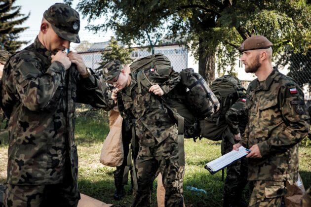 2 lbot wcielenie 12 09 20 5 94nowych ochotników wstąpiło w szeregi Lubelskiej Brygady OT [ZDJĘCIA]