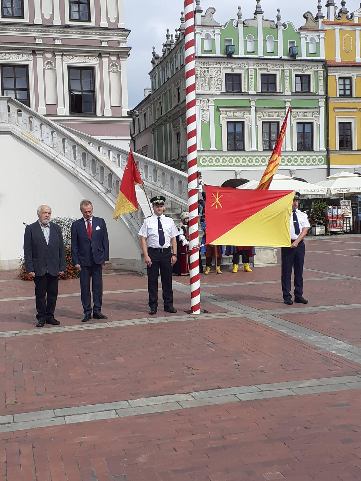 20200910 115258 Zamość świętował dziś 25. rocznicę uchwalenia flagi miejskiej