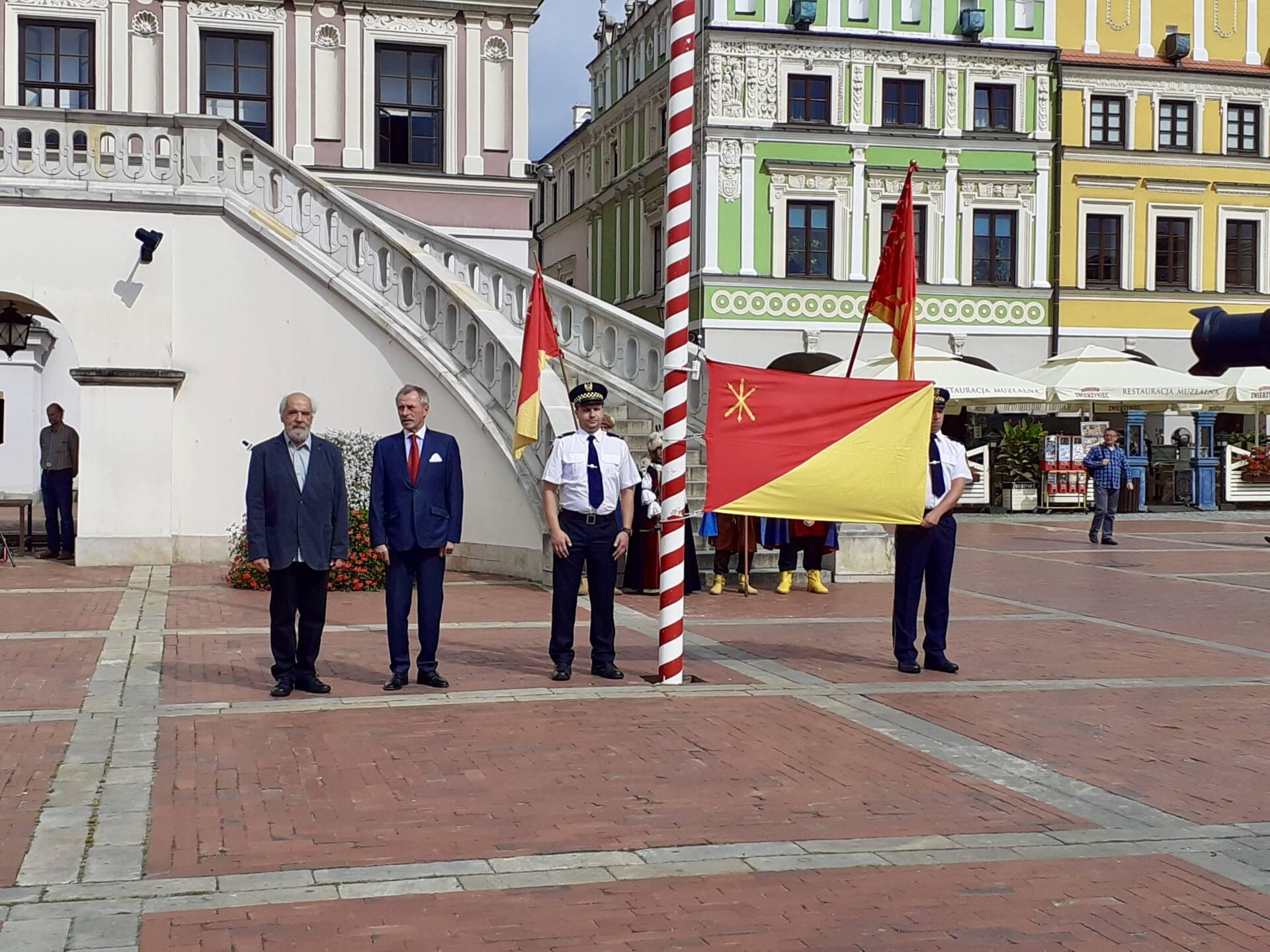 20200910 115403 Zamość świętował dziś 25. rocznicę uchwalenia flagi miejskiej