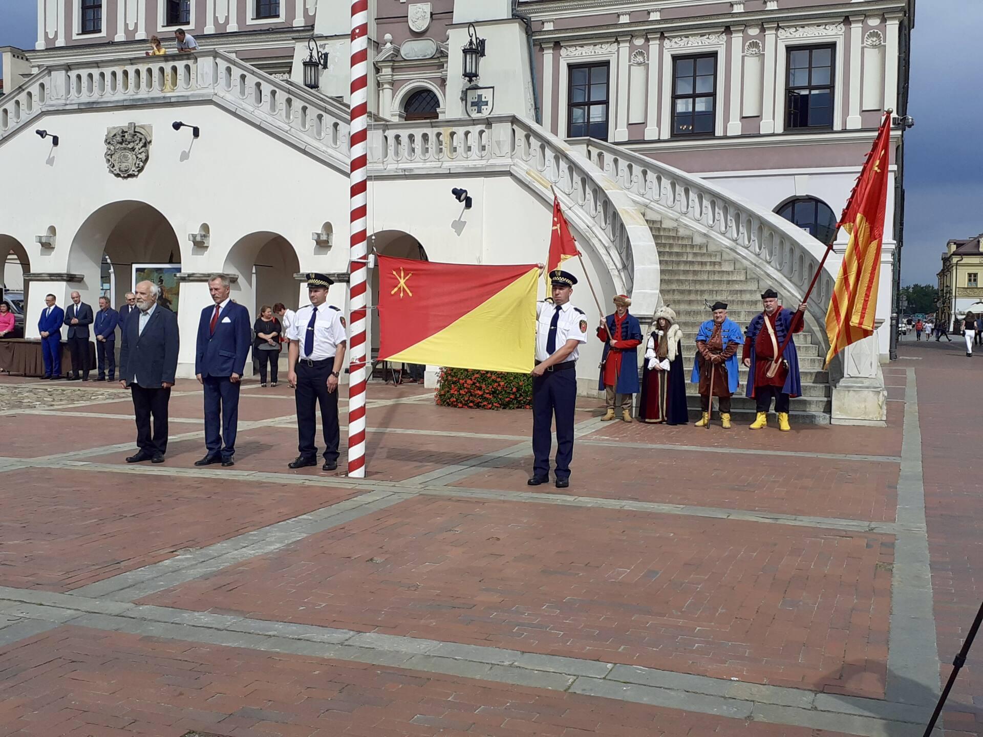 20200910 115624 Zamość świętował dziś 25. rocznicę uchwalenia flagi miejskiej