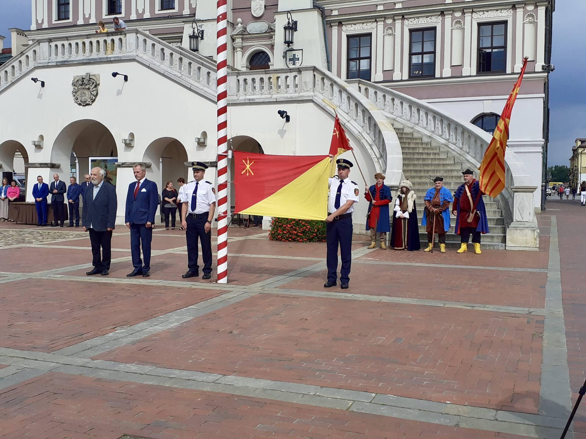 20200910 115627 Zamość świętował dziś 25. rocznicę uchwalenia flagi miejskiej