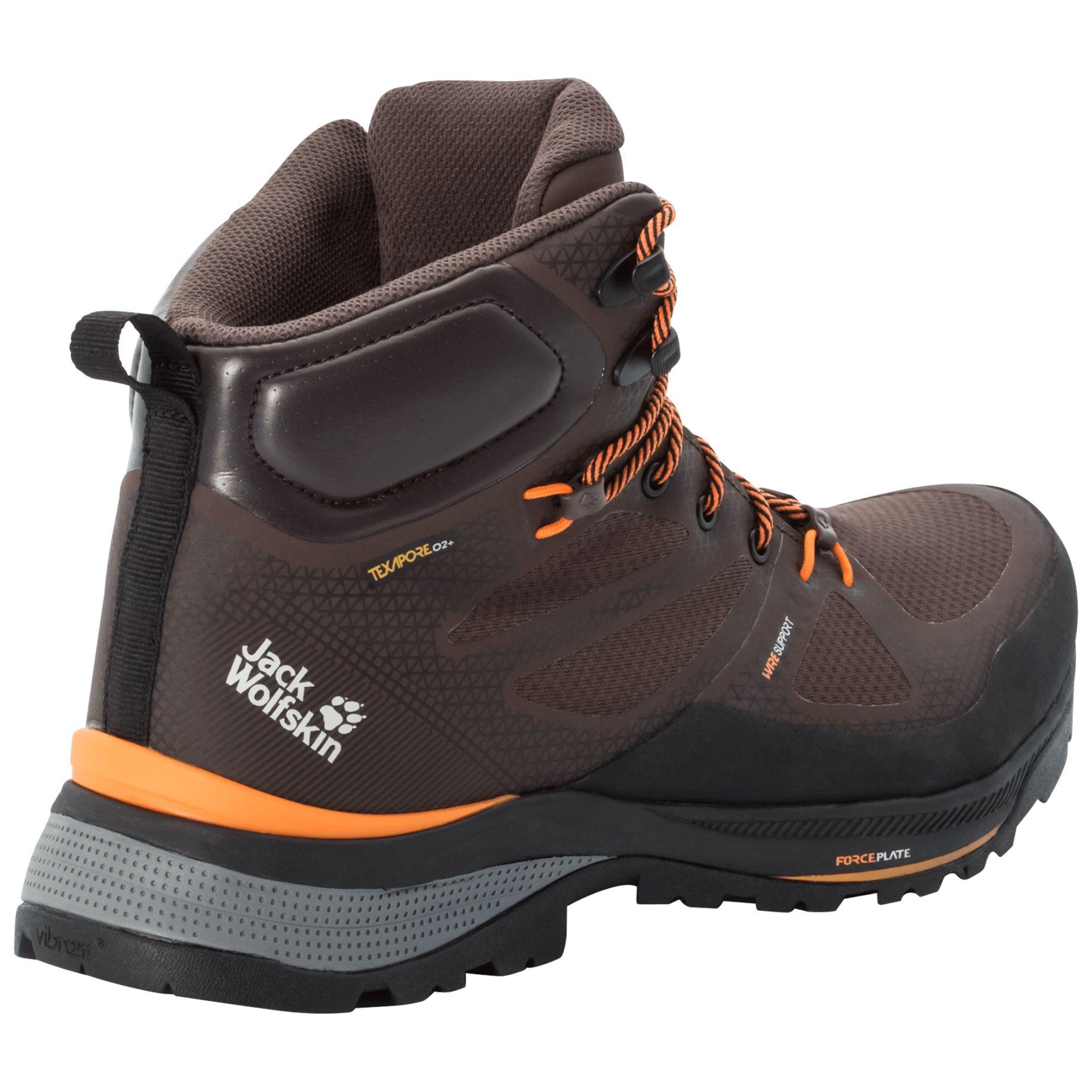 buty w gory meskie force striker texapore mid m mocca orange Na co zwrócić uwagę, kupując buty trekkingowe na jesienne górskie wyprawy?