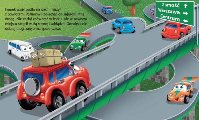 franek na estakadzie Dotrzeć do wyobraźni dziecka – o ilustracji Wojciecha Górskiego