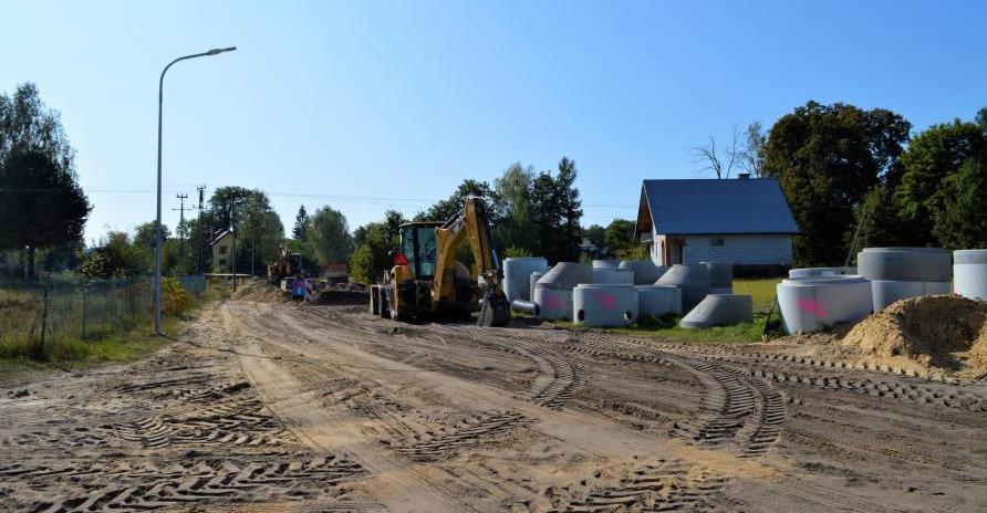 krasnobrod1 Utrudnienia w ruchu wynikające z budowy kanalizacji