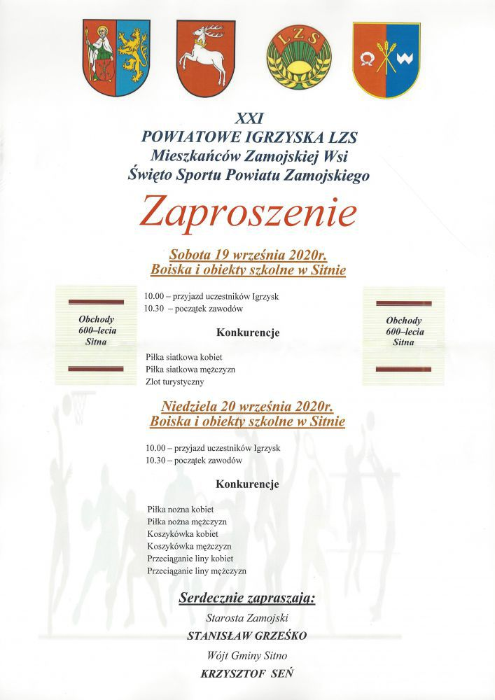 lzs XXI Powiatowe Igrzyska LZS w Sitnie