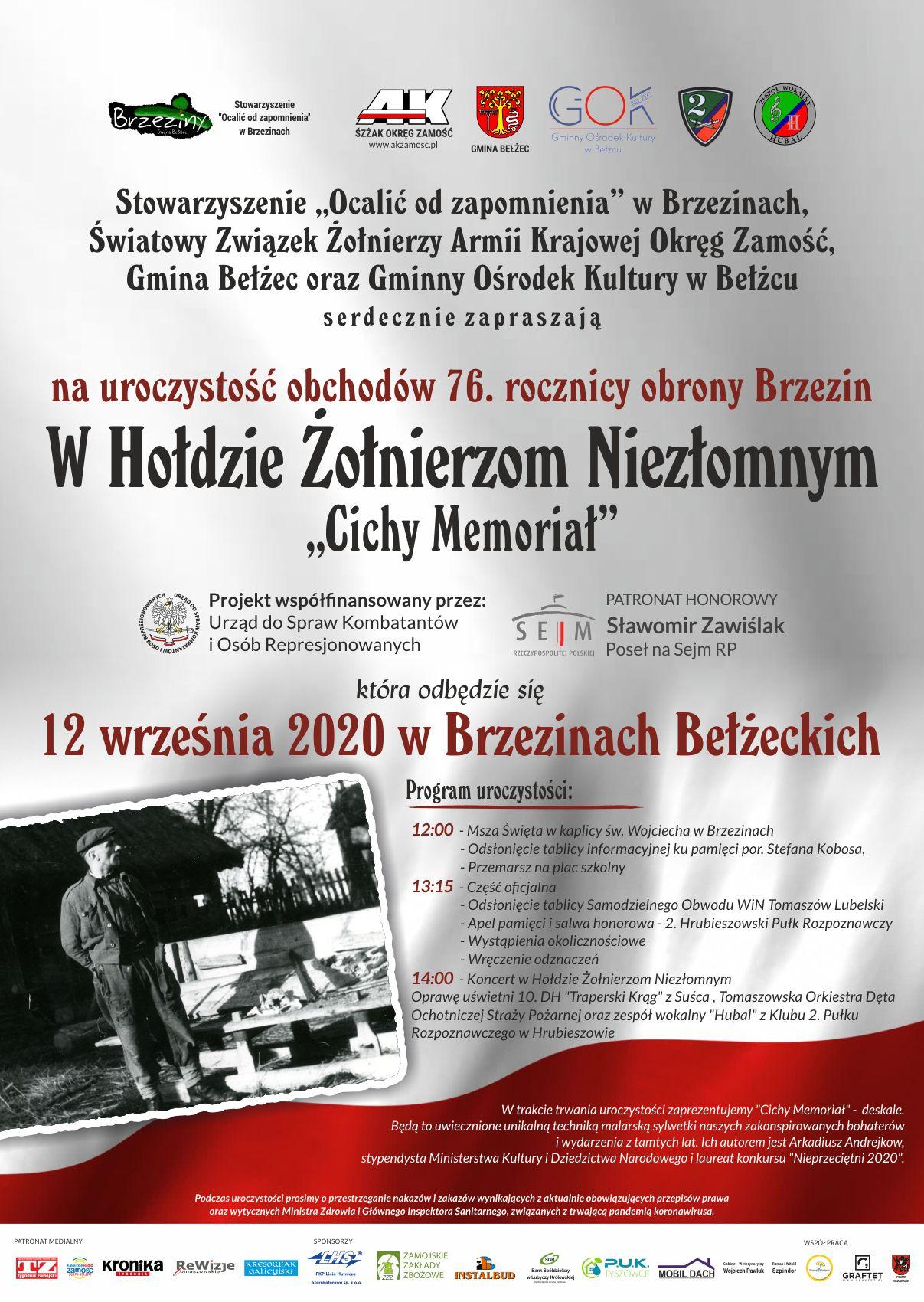 plakat brzeziny2020 Weekendowy plan wydarzeń
