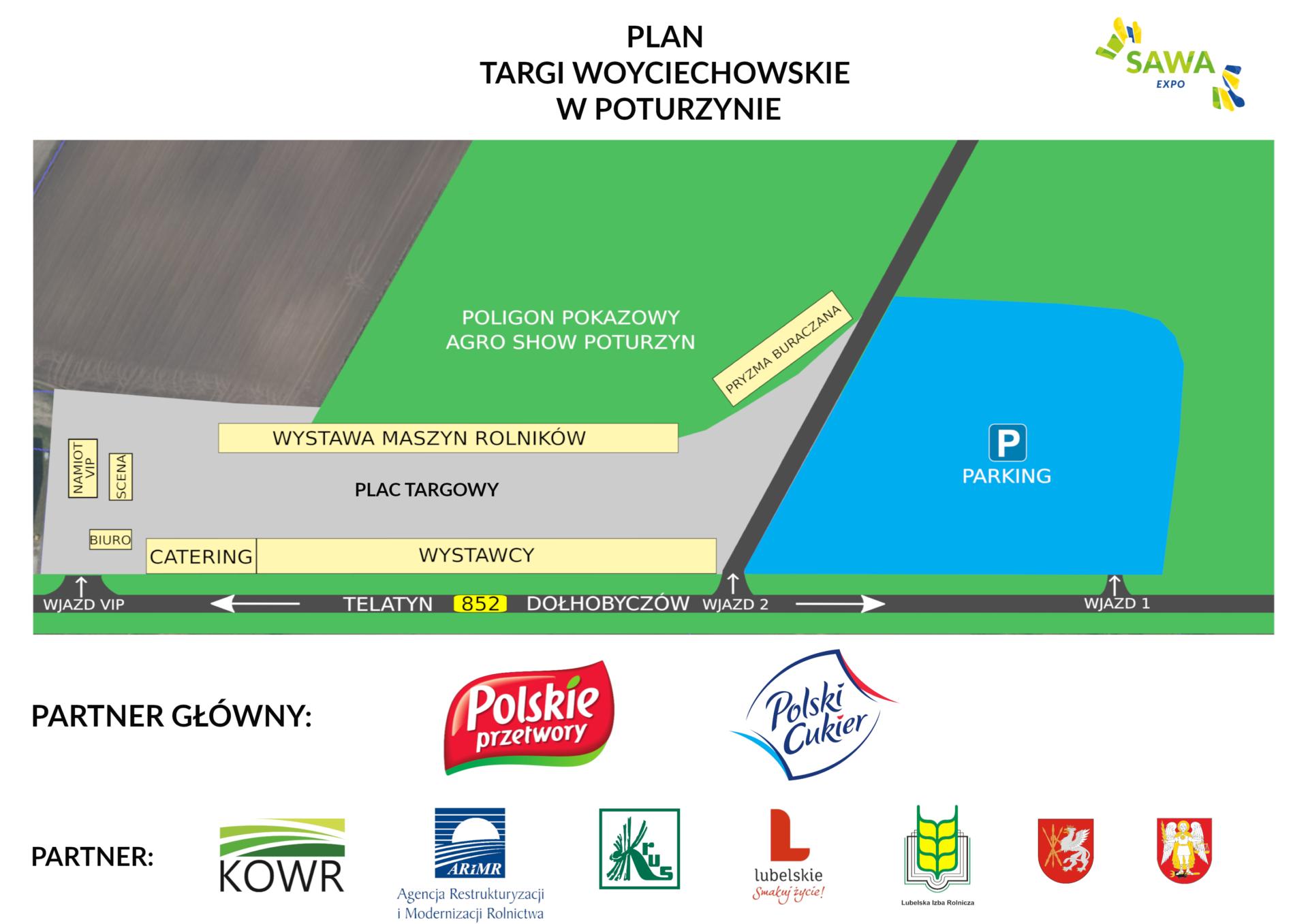 plan Ogromna impreza rolnicza w regionie. Targi Woyciechowskie - Innowacje 2020 w Poturzynie [PROGRAM]