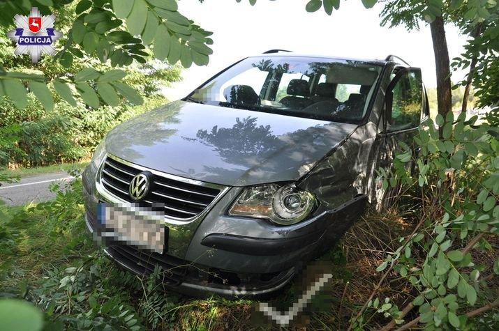 policja 1 Volkswagenem w forda mając ponad 3,5 promila