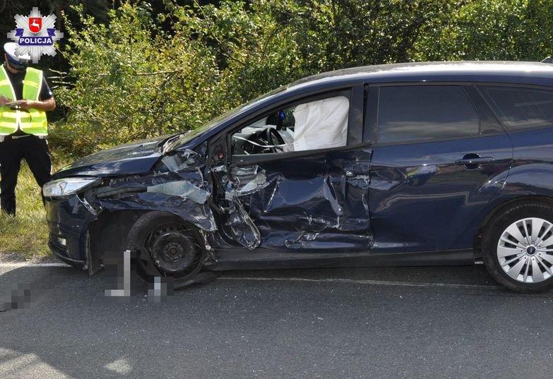 policja1 Volkswagenem w forda mając ponad 3,5 promila