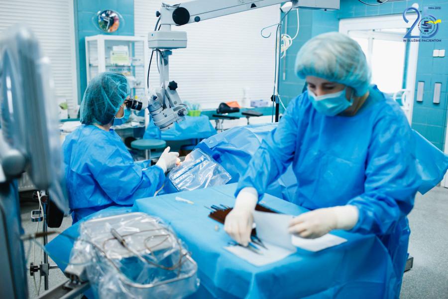 szpital 1 W szpitalu ''papieskim'' można w krótkim terminie wykonać operację zaćmy