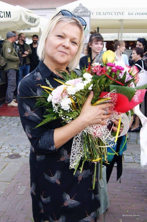 wystawa1 Otwarcie wystawy zamojskiej artystki Barbary Szeptuch.