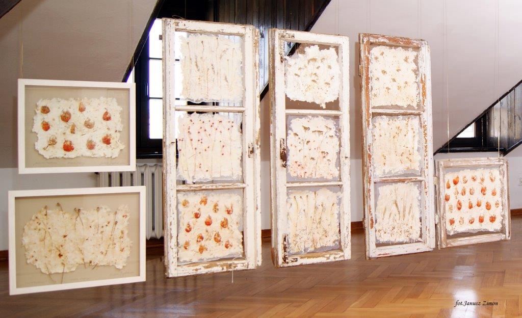 wystawa4 Otwarcie wystawy zamojskiej artystki Barbary Szeptuch.