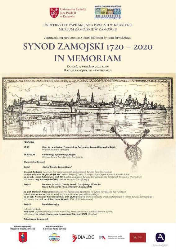 zrzut ekranu 2020 09 16 o 09 05 12 Konferencja z okazji 300-lecia Synodu Zamojskiego