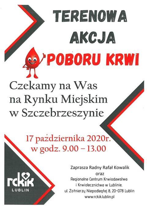 121377808 2698224890493228 8015330801129755543 n Szczebrzeszyn: Podziel się krwią