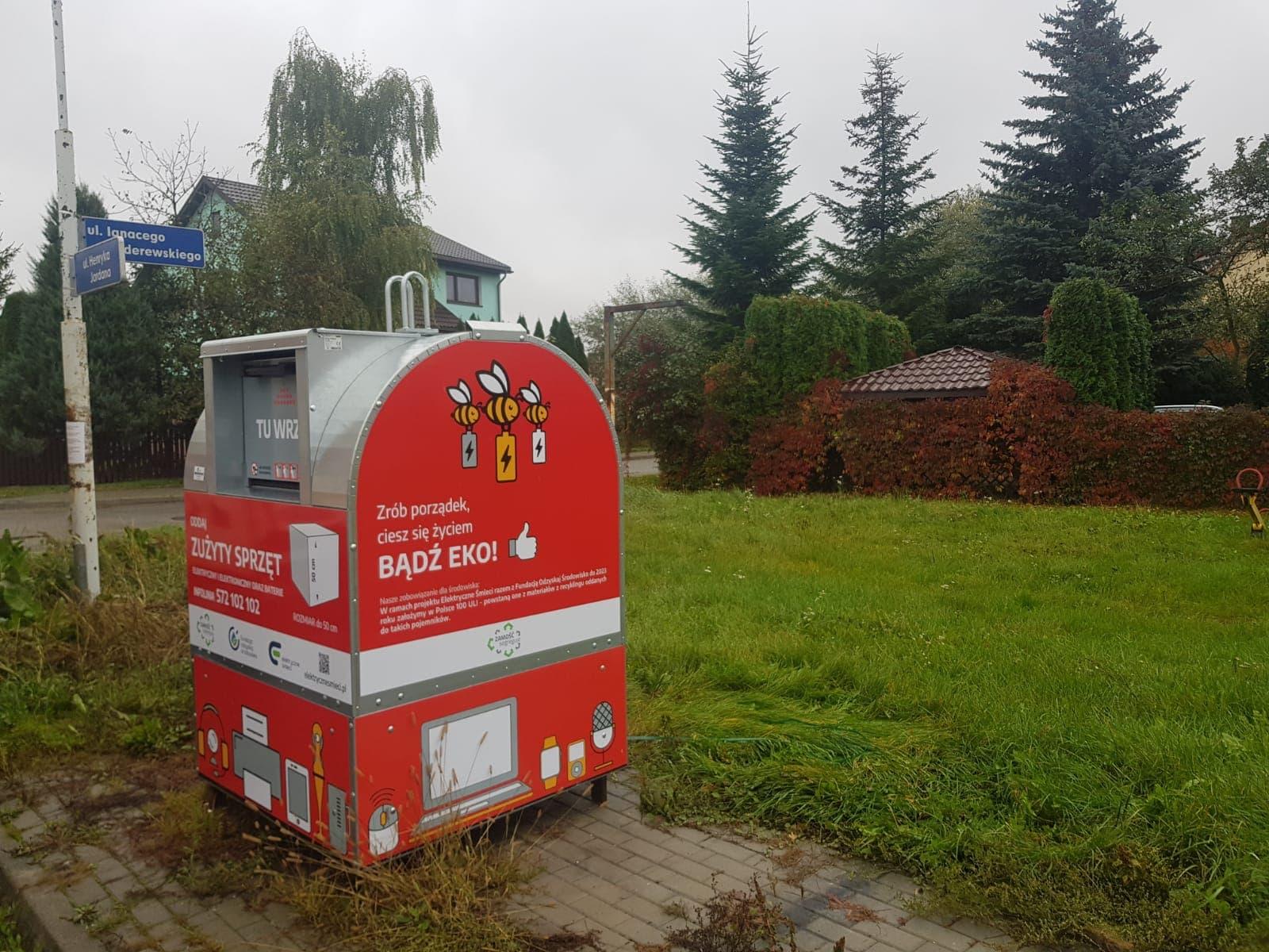 122304698 183434116696607 8821465347827126658 o Mieszkańcy Zamościa łatwiej pozbędą się elektrośmieci.