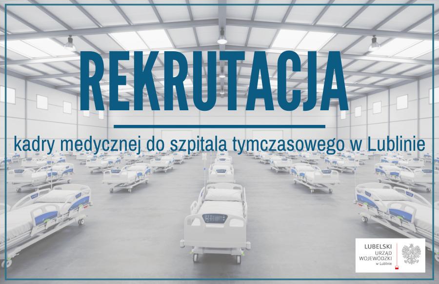 122971369 1613134092192984 1117681323017221050 n Wojewoda Lubelski szuka kadry medycznej do szpitala tymczasowego dla pacjentów chorych na covid-19