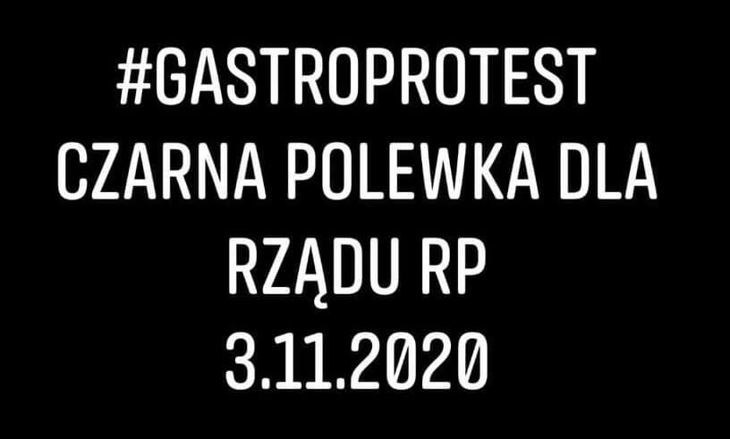 123242202 3921085041253463 4740680960422898143 n #Gastroprotest Zamość - Czarna Polewka Dla Rządu RP