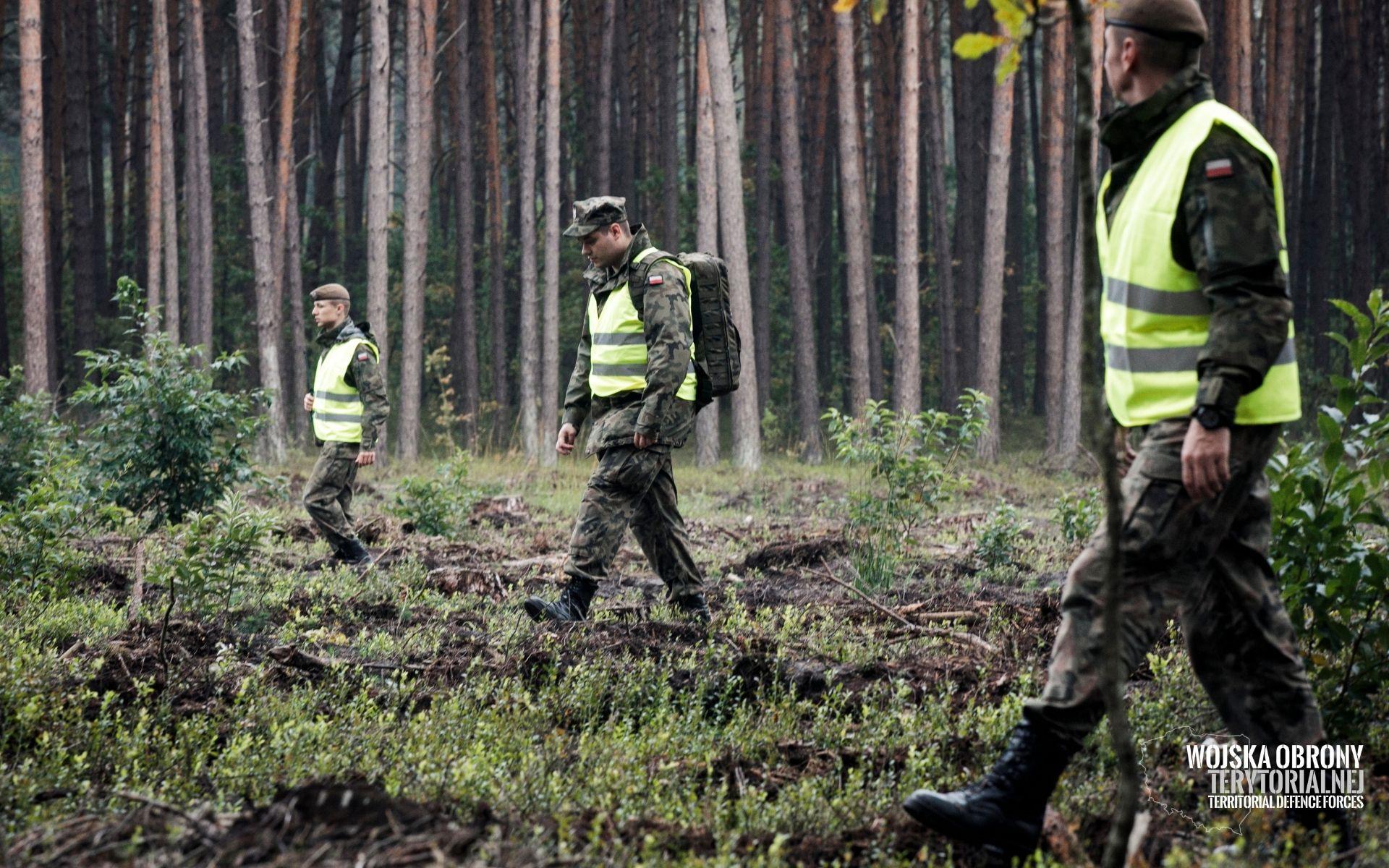 2lbot renegade 3 Terytorialsi szukali pilota i rozbitego myśliwca