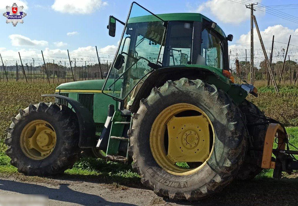 68 175981 Zderzenia osobówki z ciągnikiem rolniczym