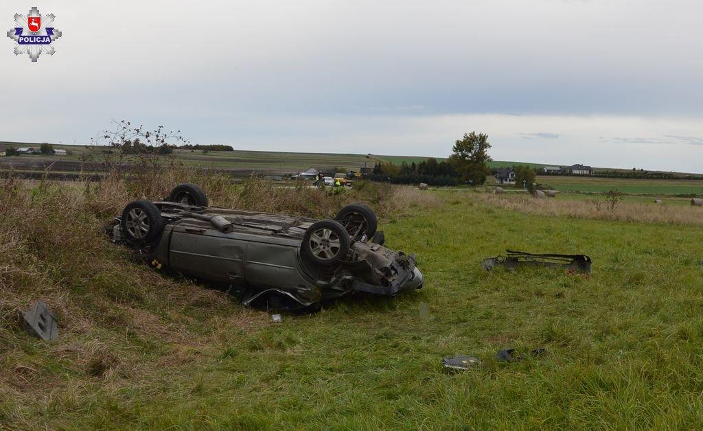 68 176001 Tragiczny wypadek pod Zamościem. Zginął 17- letni pasażer.